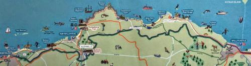 north coast map